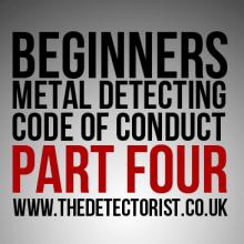 Metal Detecting Code Of Conduct