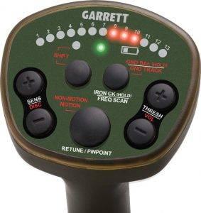 Garrett ATX control panel