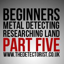 Researching Land Metal Detecting