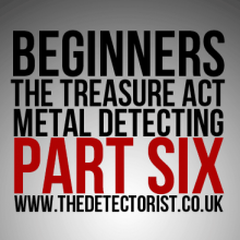 The Treasure Act for Beginners