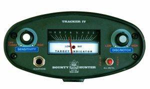 Bounty hunter tracker IV control Panel