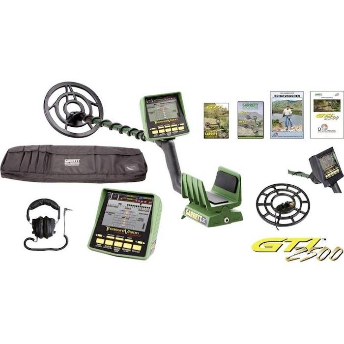 Garrett GTI 2500 full kit metal detector